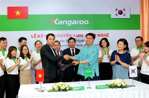 Ký kết chuyển giao công nghệ từ Hàn Quốc