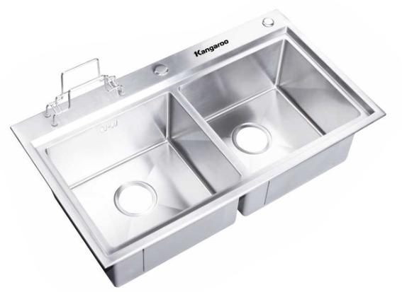 Chậu rửa Inox Kangaroo KG 8246