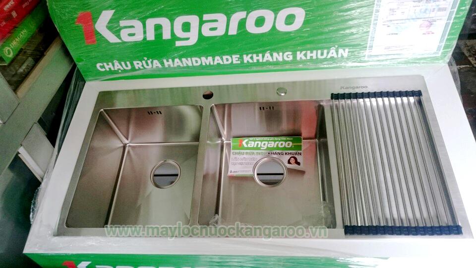 Ảnh thực tế chậu rửa Kangaroo KG10550R
