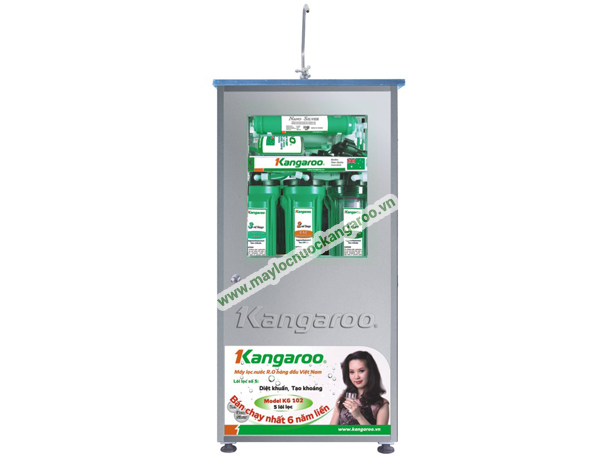 Máy lọc nước Kangaroo Omega KG110 Tủ INOX