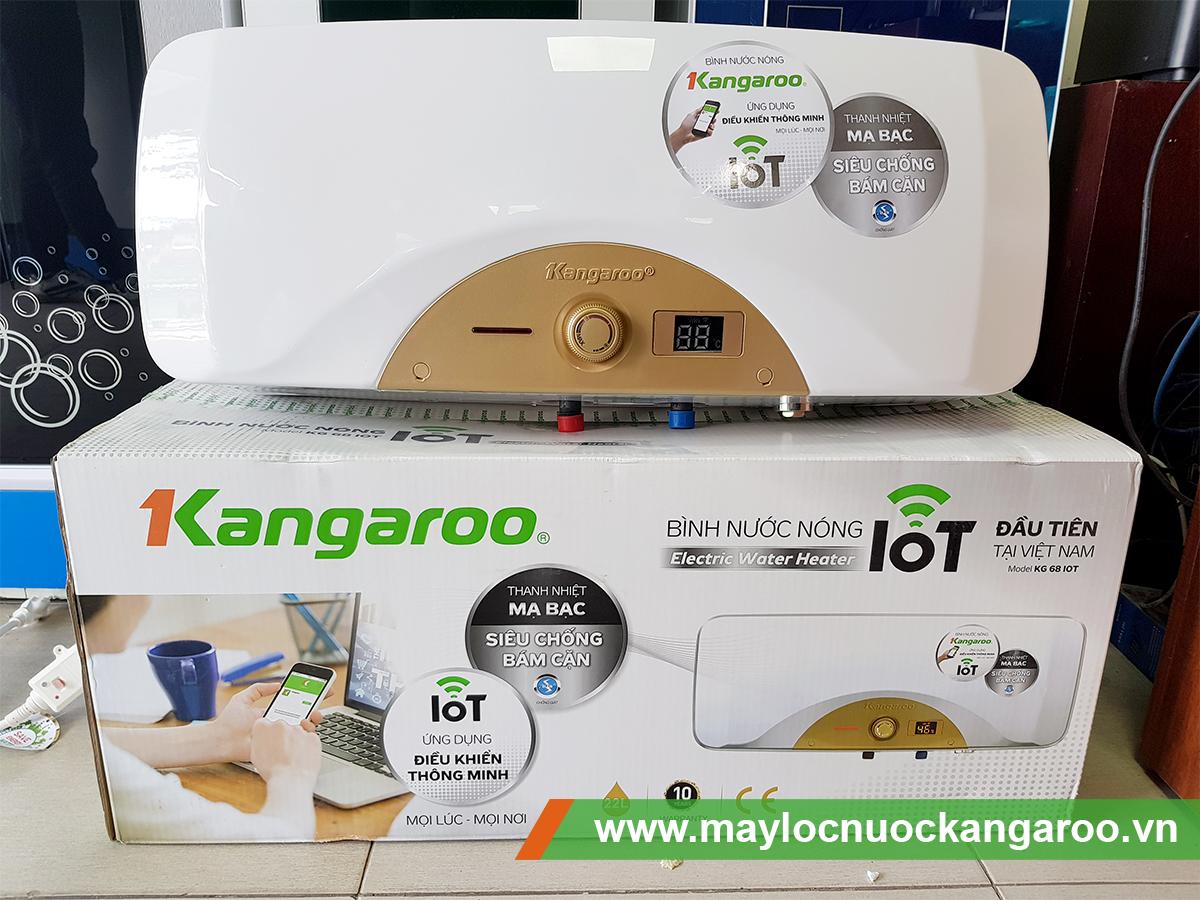 Bình nước nóng thông minh Kangaroo KG68 IoT
