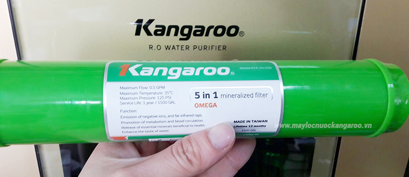 Lõi lọc 5in1 Kangaroo Mới
