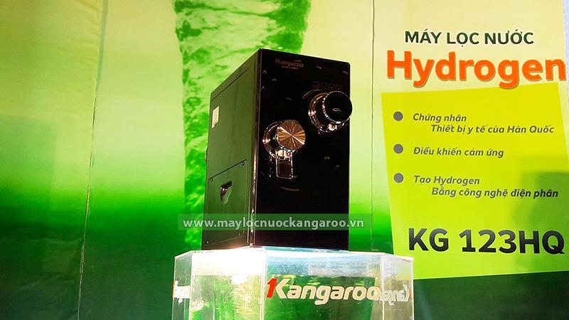 Hình ảnh thực tế máy lọc nước Kangaroo Hydrogen để bàn KG123HQ