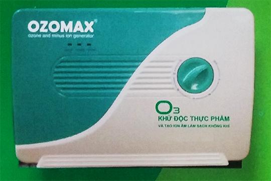 Máy khử độc rau quả Ozomax