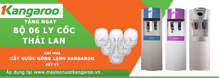Khuyến mại khi mua cây nước Kagaroo